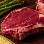 River Watch Beef – Premium Aged Grass Fed Bone-In Ribeye Steak