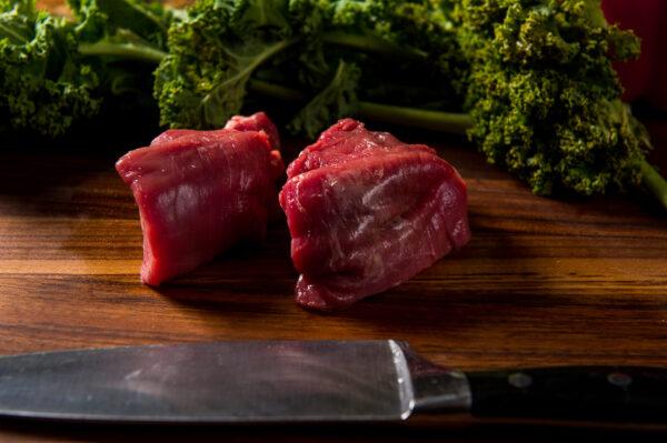 Two Grass Fed Filet Mignon Steaks