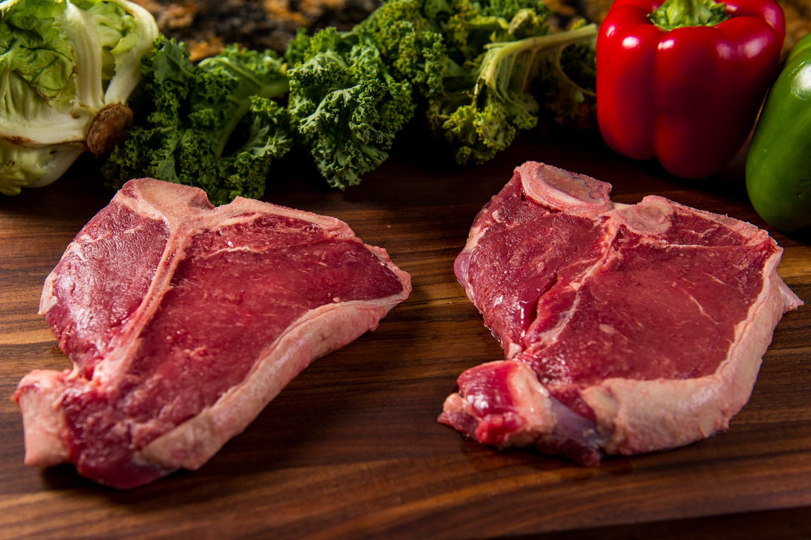River Watch Beef Cuts - Porterhouse Steak - 2 Steaks - Close