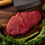River Watch Beef - Grass Fed Round Steak - Top