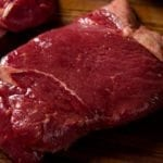 River Watch Beef Cuts - Sirloin Steak Very Close