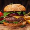 Grass Fed Beef Cheeseburger