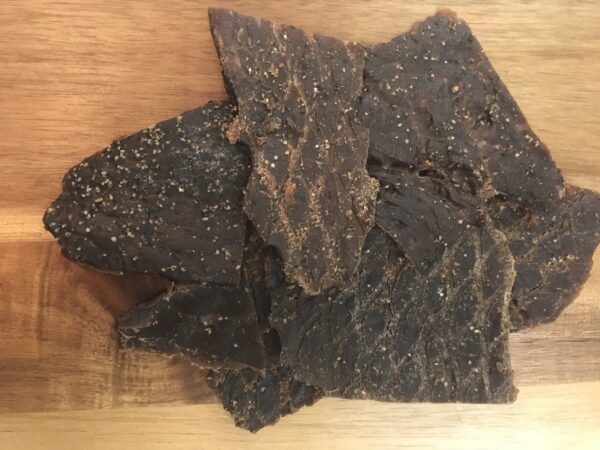 Grass Fed Beef Jerky Sweet Peppered Jerky