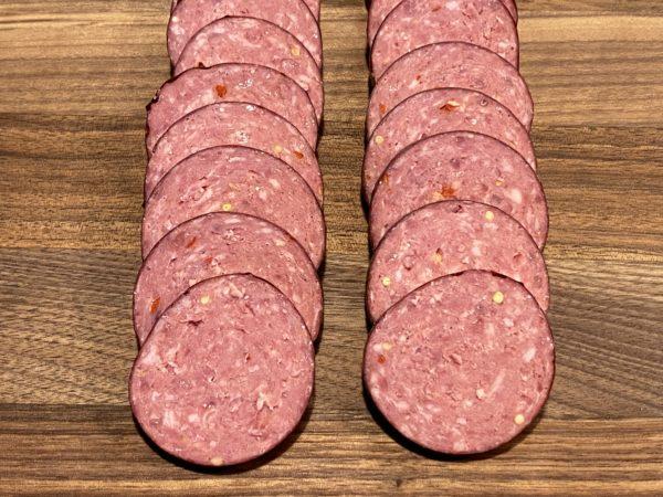 River Watch Beef Summer Sausage Sliced