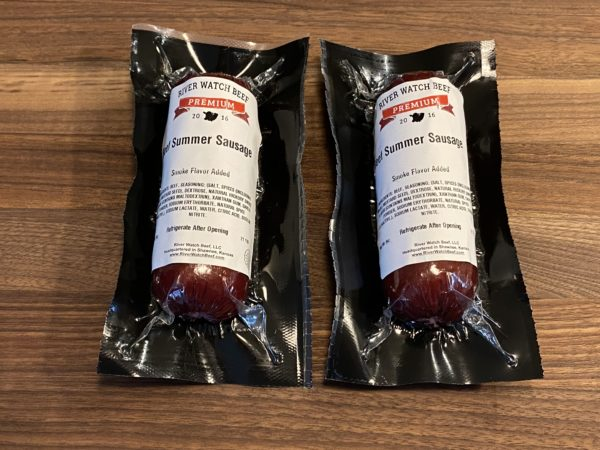 River Watch Beef Summer Sausage 6 Pack